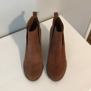 Lucky Brand Suede Wedges, 8